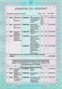 licenzija dodatok 2
